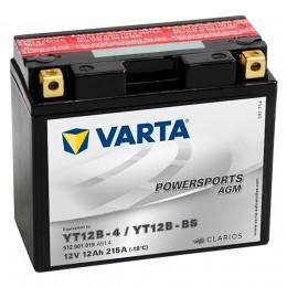 VARTA Powersports AGM YT12B-BS 215А прямая полярность 12 Ач (151x70x131)