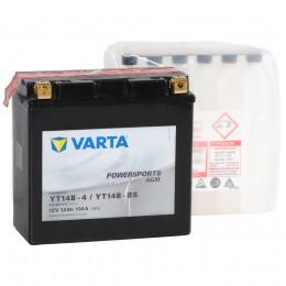Аккумулятор для мототехники VARTA Powersports AGM YT14B-BS 190А прямая полярность 12 Ач (152x70x150) фото