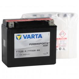 VARTA Powersports AGM YTX20-BS 250А прямая полярность 18 Ач (177x88x156)