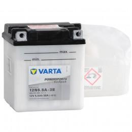 Аккумулятор для мототехники VARTA Powersports Freshpack 12N5.5A-3B 58А обратная полярность 6 Ач (103x90x114) фото