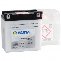 Аккумулятор для мототехники VARTA Powersports Freshpack 12N9-4B-1/YB9-B 85А прямая полярность 9 Ач (137x76x134) фото