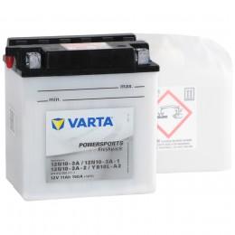 Аккумулятор для мототехники VARTA Powersports Freshpack YB10L-A2 150А обратная полярность 11 Ач (136x91x146) фото