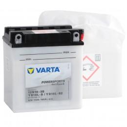 Аккумулятор для мототехники VARTA Powersports Freshpack YB10L-B/12N10-3B/YB10L-B2 150А обратная полярность 11 Ач (136x91x146) фото