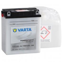 VARTA Powersports Freshpack YB12AL-A2/YB12AL-A 160А прямая полярность 12 Ач (136x82x161)
