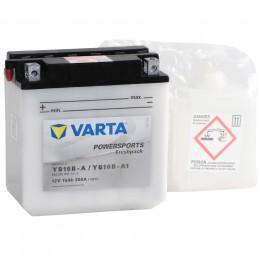Аккумулятор для мототехники VARTA Powersports Freshpack YB16B-A/YB16B-A1 200А прямая полярность 16 Ач (160x90x161) фото