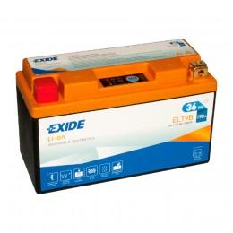 Аккумулятор для мототехники EXIDE ELT9B 36 Wh 190А прямая полярность 3 Ач (150x65x92) фото