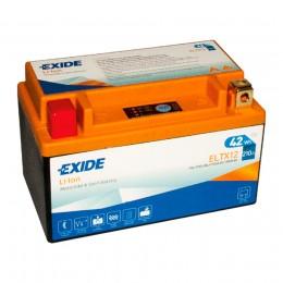 Аккумулятор для мототехники EXIDE ELTX12 42 Wh 210А прямая полярность 4 Ач (150x87x93) фото