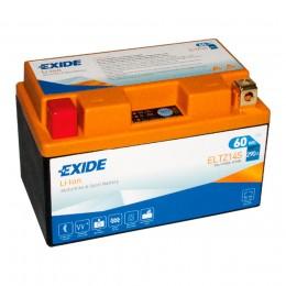 Аккумулятор для мототехники EXIDE ELTZ14S 60 Wh 290А прямая полярность 5 Ач (150x87x93) фото