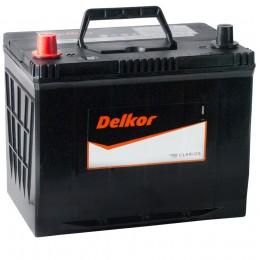 Автомобильный аккумулятор DELKOR 80L (90D26R) 680А прямая полярность 80 Ач (260x173x225) фото