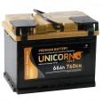 Аккумулятор UNICORN GOLD 66R