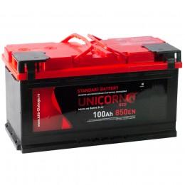 Автомобильный аккумулятор UNICORN RED 100R 850А обратная полярность 100 Ач (353x175x190) фото