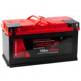Автомобильный аккумулятор UNICORN RED 100L 850А прямая полярность 100 Ач (353x175x190) фото