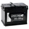 UNICORN BLACK 60L 500A 242x175x190