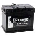 Аккумулятор UNICORN BLACK 60R