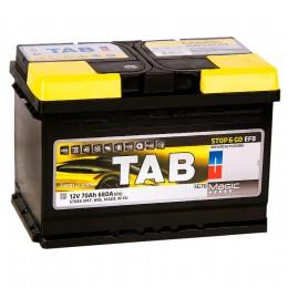 TAB EFB 70R 680А обратная полярность 70 Ач (278x175x190)