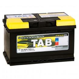 TAB EFB 80R 760А обратная полярность 80 Ач (315x175x190)