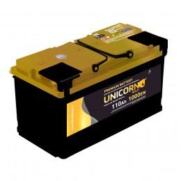UNICORN GOLD 110R 1000А Обратная полярность 110 Ач (353x175x190)