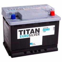 TITAN EUROSILVER 65R 620А Обратная полярность 65 Ач (242x175x190)