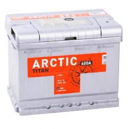 TITAN ARCTIC 60R  620А Обратная полярность 60 Ач (242x175x190)
