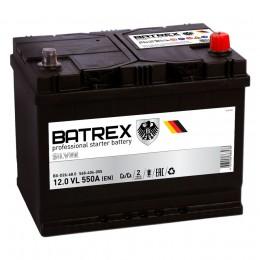 BATREX ASIA 68R 550А Обратная полярность 68 Ач (260x173x225)