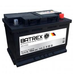 BATREX 77R 780А Обратная полярность 77 Ач (278x175x190)