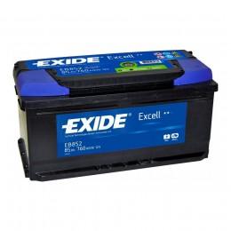 EXIDE Excell EB852 (85R) низкий 760А Обратная полярность 85 Ач (353x175x175)