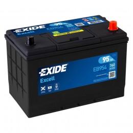 EXIDE Excell EB954 (95R) 760А Обратная полярность 95 Ач (306x173x223)