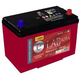 E-LAB ASIA 100R 800А Обратная полярность 100 Ач (306x173x223)