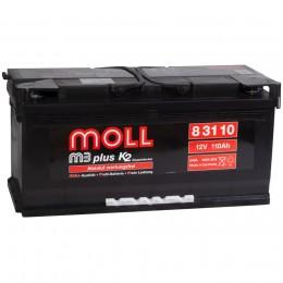 MOLL M3plus 110R 900А обратная полярность 110 Ач (394x175x190)