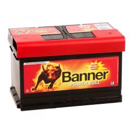BANNER Power Bull 72R (72 09) 660А обратная полярность 72 Ач (278x175x175)