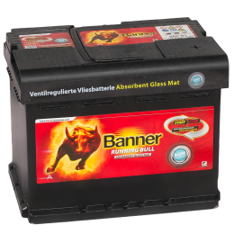 BANNER Running Bull AGM Start-Stop (56 001) 60R 640A 242x175x190