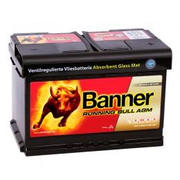 BANNER Running Bull AGM 70R (57 001) 720А обратная полярность 70 Ач (278x175x190)