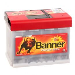 BANNER Power Bull 63R (63 40) 600А обратная полярность 63 Ач (241x175x190)