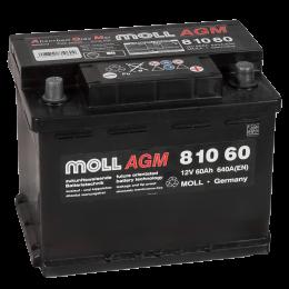 MOLL AGM 60R Start-Stop 640A 242x175x190