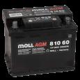 Аккумулятор MOLL AGM Start-Stop  60R