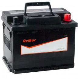 Автомобильный аккумулятор DELKOR 60R (56030) 525А обратная полярность 60 Ач (241x174x188) фото