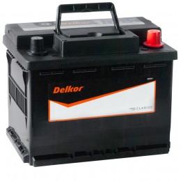 Автомобильный аккумулятор DELKOR 62R (56219) 580А обратная полярность 62 Ач (241x174x188) фото