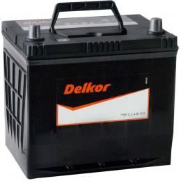 Автомобильный аккумулятор DELKOR 65R (75D23L) 570А обратная полярность 65 Ач (232x173x225) фото