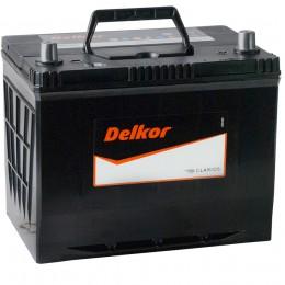 Автомобильный аккумулятор DELKOR 75R (80D26L) 600А обратная полярность 75 Ач (260x173x225) фото