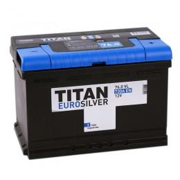 TITAN EUROSILVER 76R  700А Обратная полярность 76 Ач (278x175x190)
