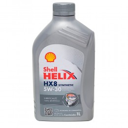 SHELL Helix HX8 Synthetic 5W30 1л