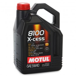 MOTUL  8100  X-cess SAE  5w40 5л