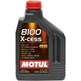 MOTUL  8100  X-cess SAE  5w40 1л