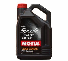 MOTUL Specific 504 00-507 00  VW  5w30 5л
