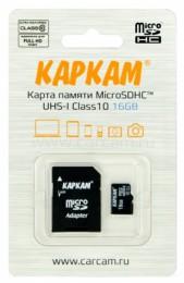 Карта памяти microSDHC 10Class UHS-I 16GB