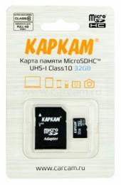 Карта памяти microSDHC 10Class UHS-I 32GB