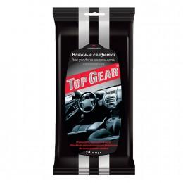 Салфетки влажные для салона автомобиля Top Gear №30 30 шт