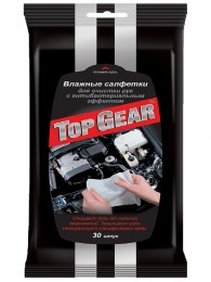 Салфетки влажные для рук Top Gear №30 30 шт